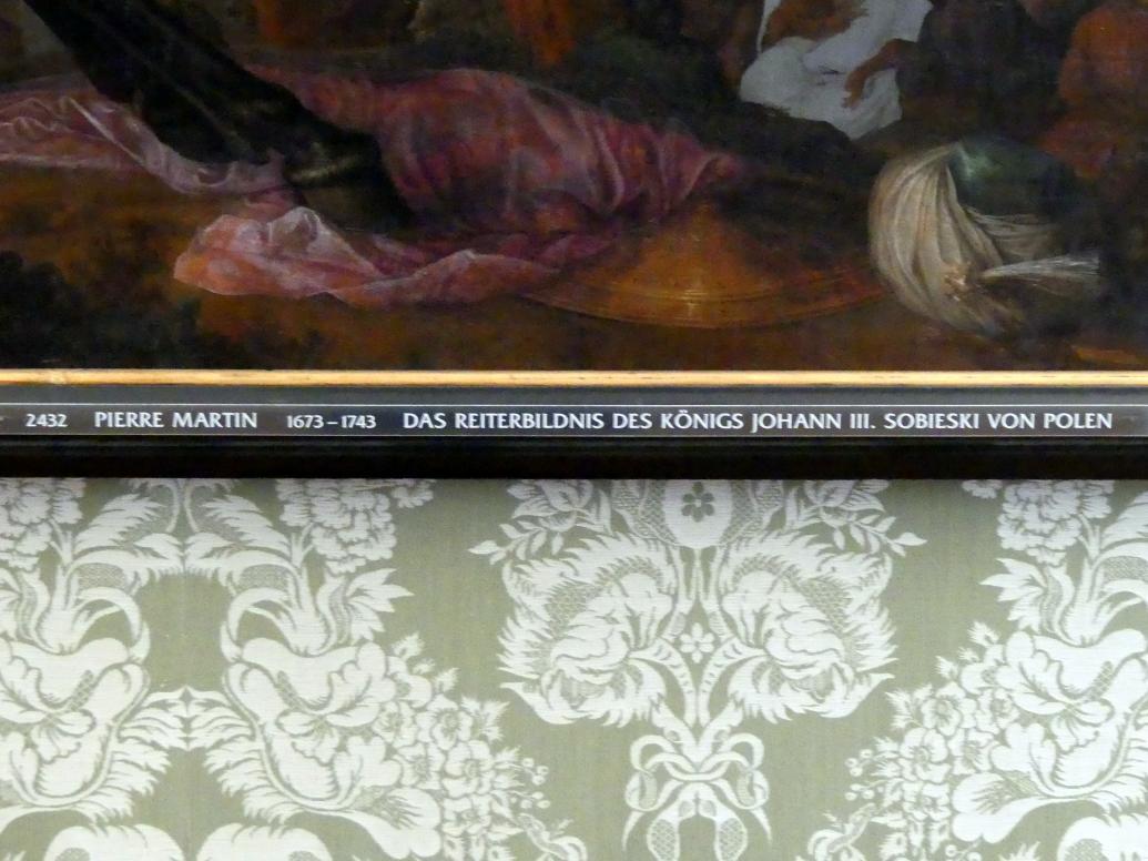 Pierre-Denis Martin: Das Reiterbildnis des Königs Johann III. Sobieski von Polen, Undatiert, Bild 2/2