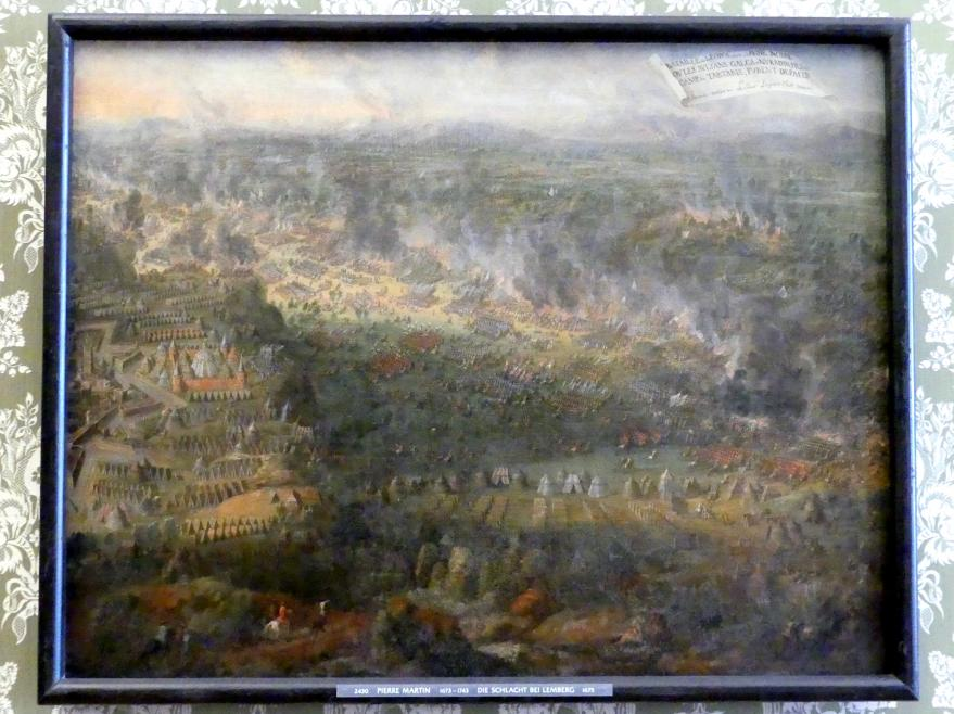 Pierre-Denis Martin: Die Schlacht bei Lemberg, 1675