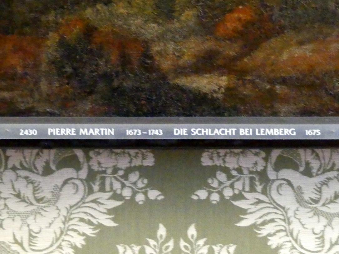 Pierre-Denis Martin: Die Schlacht bei Lemberg, 1675, Bild 2/2
