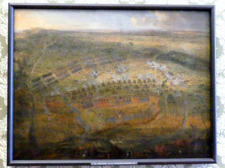 Pierre-Denis Martin: Die Schlacht bei Zurawno, 1676