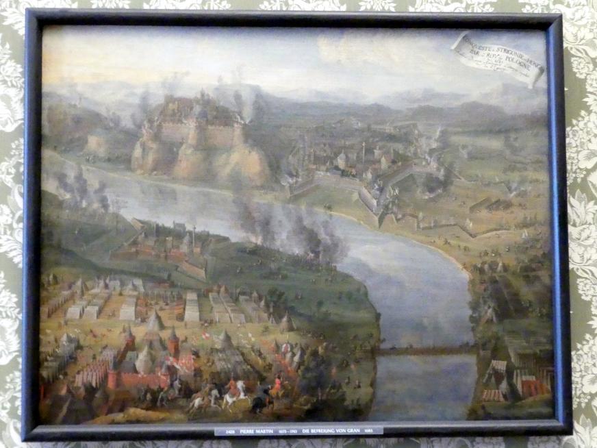 Pierre-Denis Martin: Die Befreiung von Gran, 1683