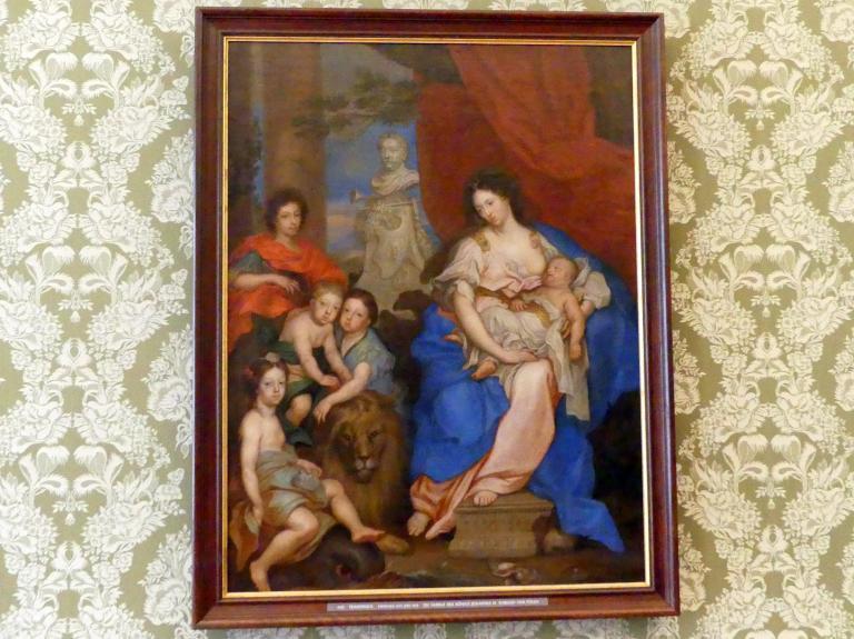 Die Familie des Königs Johannes III. Sobieski von Polen, um 1673 - 1675