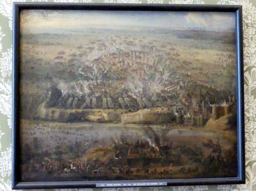 Pierre-Denis Martin: Die Schlacht bei Chotin, 1673