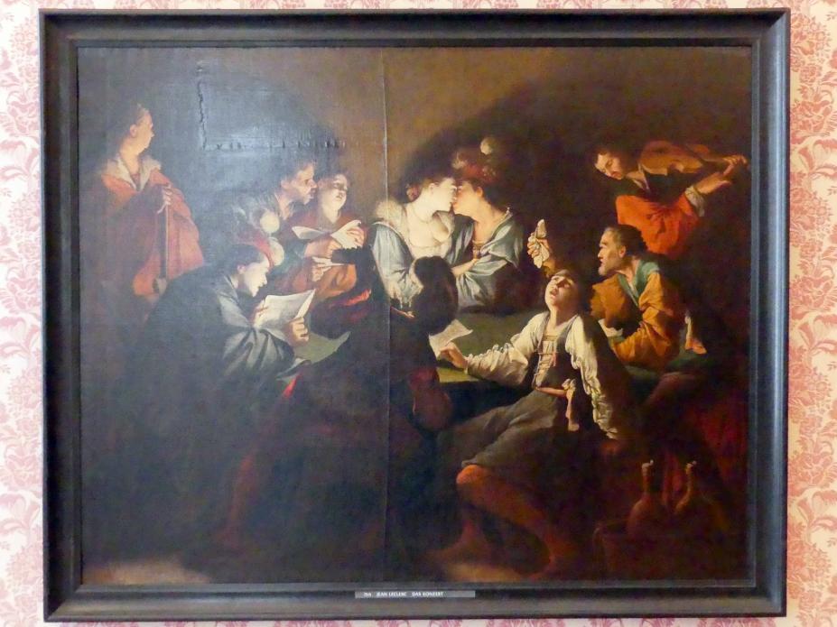 Jean Le Clerc: Das Konzert, Undatiert