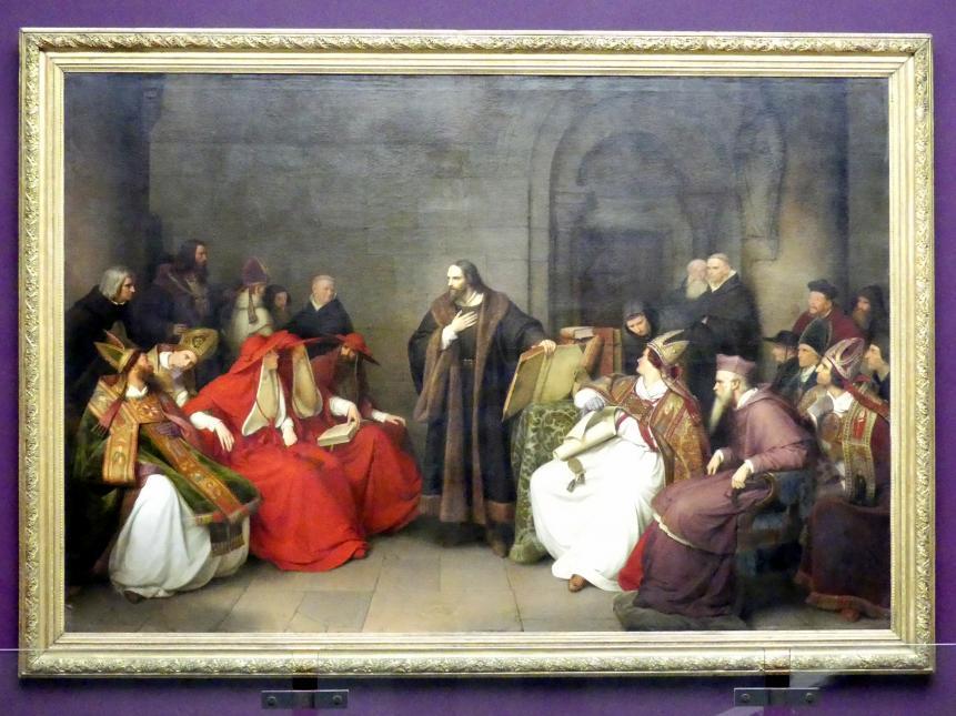 Carl Friedrich Lessing: Jan Hus zu Konstanz, 1842
