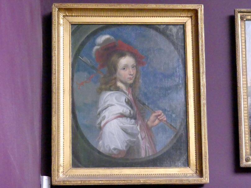 Bildnis eines Mädchens in Schäfertracht, 1665