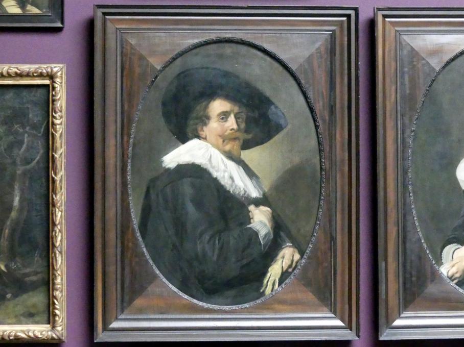 Frans Hals: Bildnis eines Mannes, 1638
