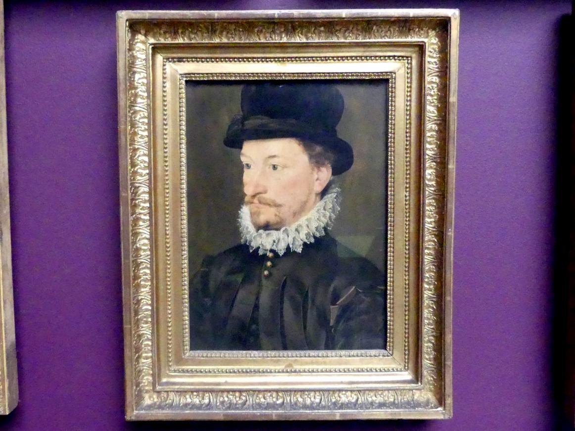 Brustbild eines jungen Mannes, um 1570 - 1590