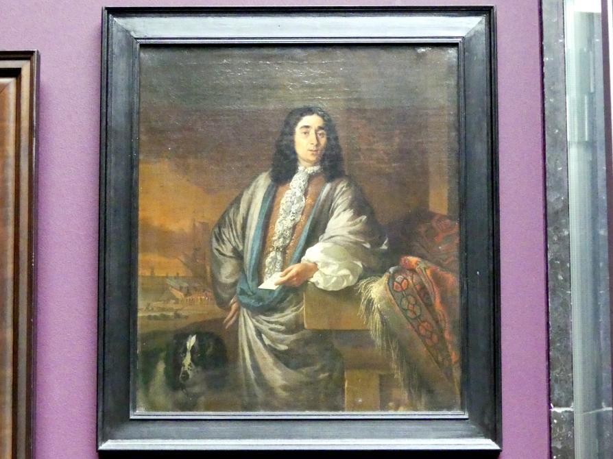 Jan Weenix: Bildnis eines holländischen Kaufmanns, um 1685 - 1688