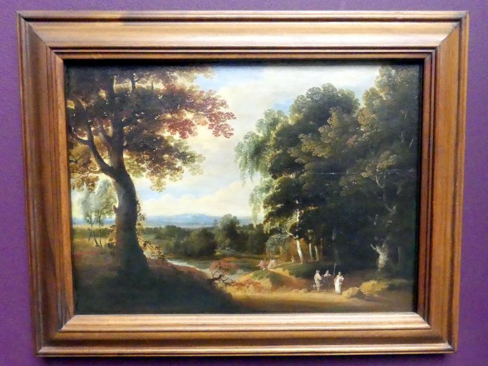 Jacques d'Arthois: Landschaft mit Eingang zum Walde, um 1650
