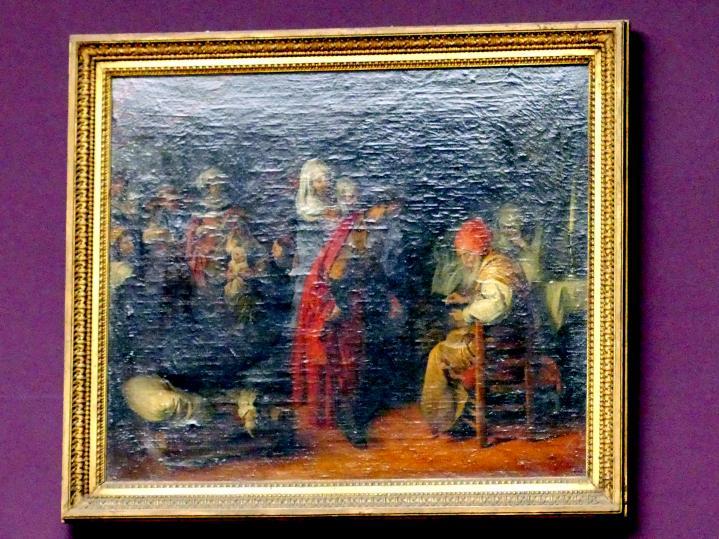 Barent Fabritius: Geburt und Namensgebung Johannes des Täufers, um 1660 - 1669