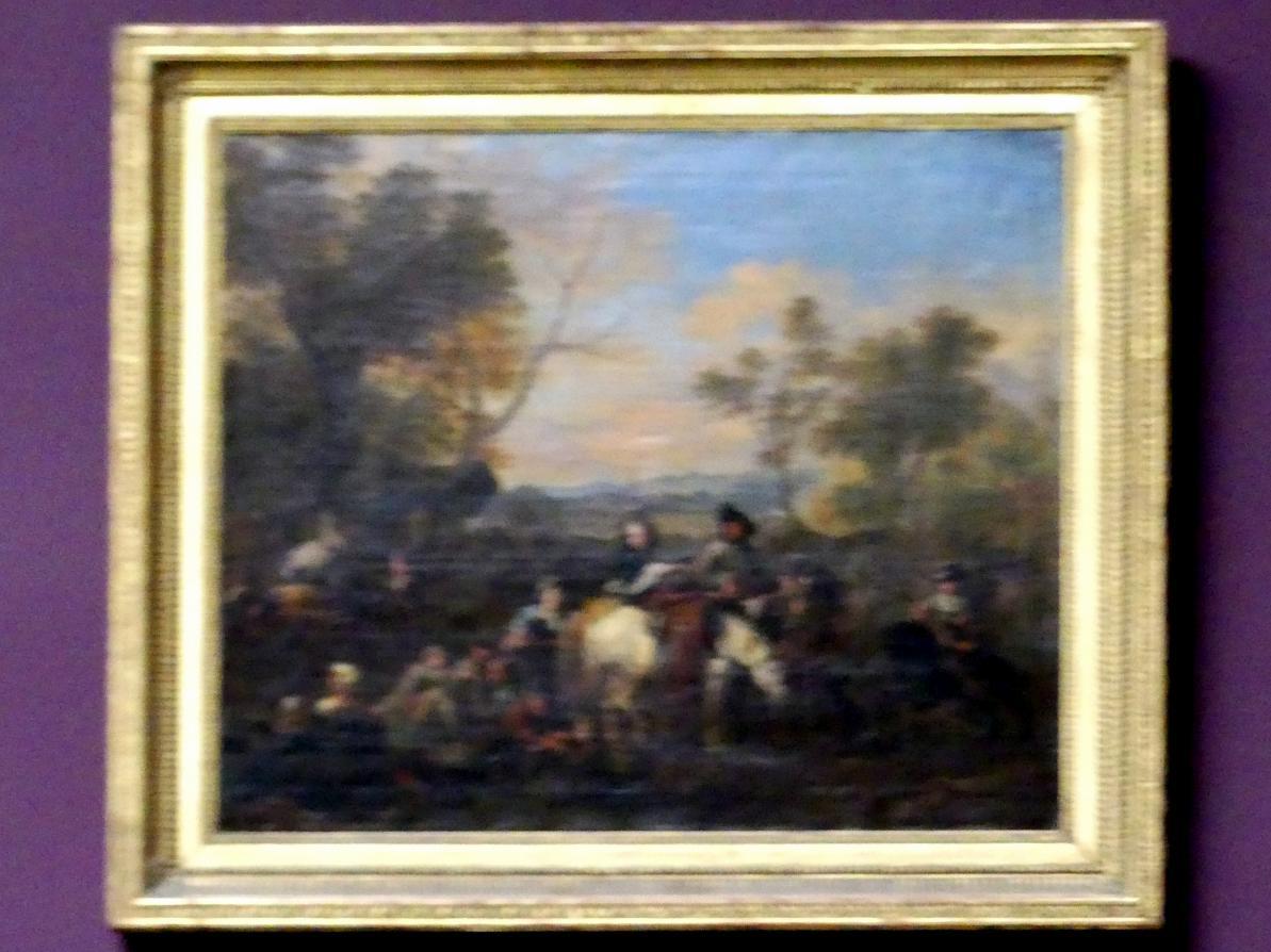 Jan van Huchtenburgh: Besuch im Feldlager, um 1690 - 1700