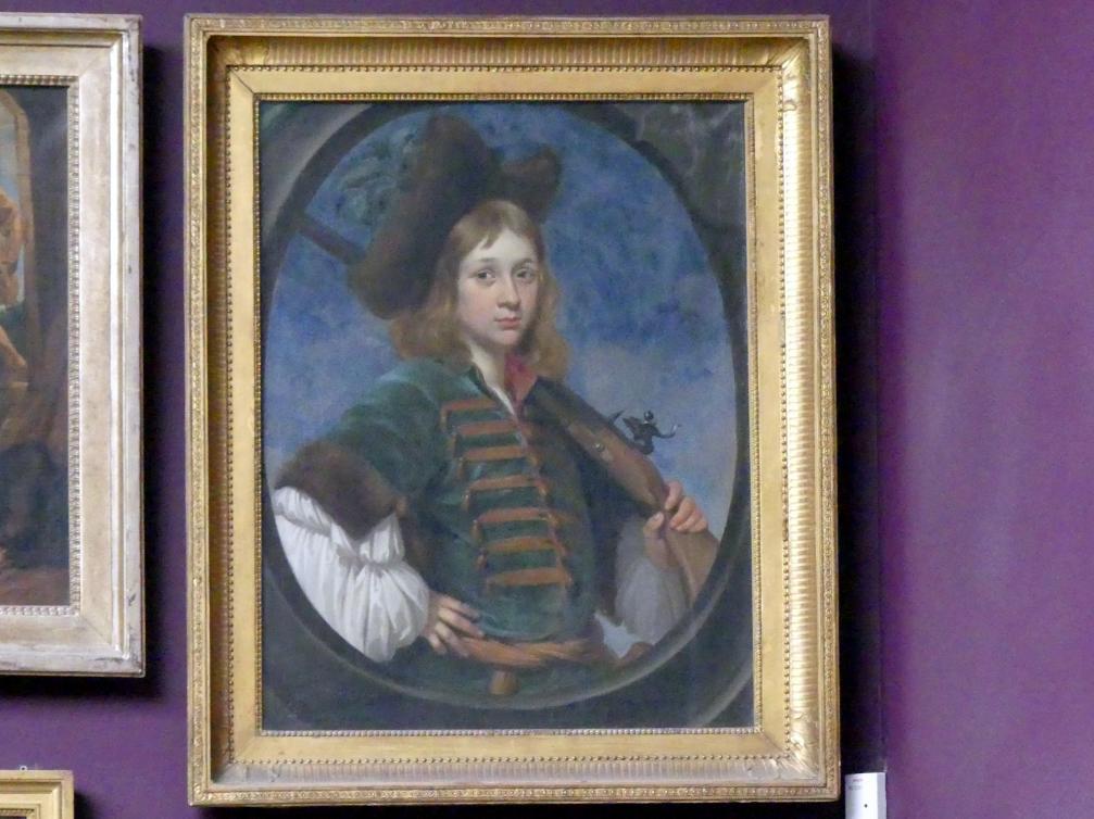 Bildnis eines Jungen im Jagdkostüm, 1665