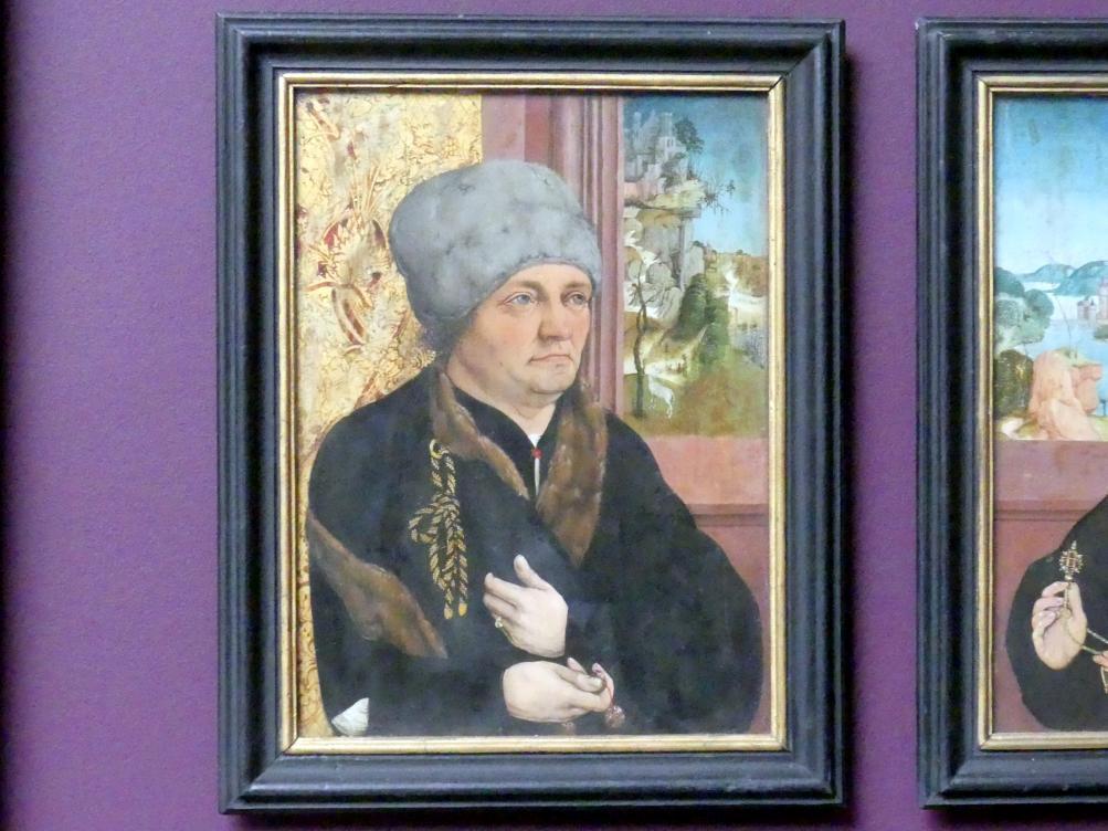 Wolfgang Beurer: Bildnis eines Mannes, 1495 - 1500