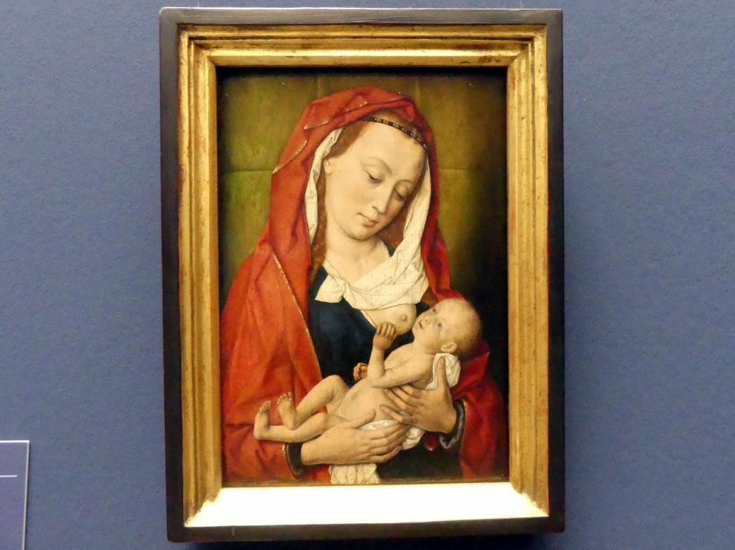 Dieric Bouts d.Ä.: Madonna mit Kind, um 1475