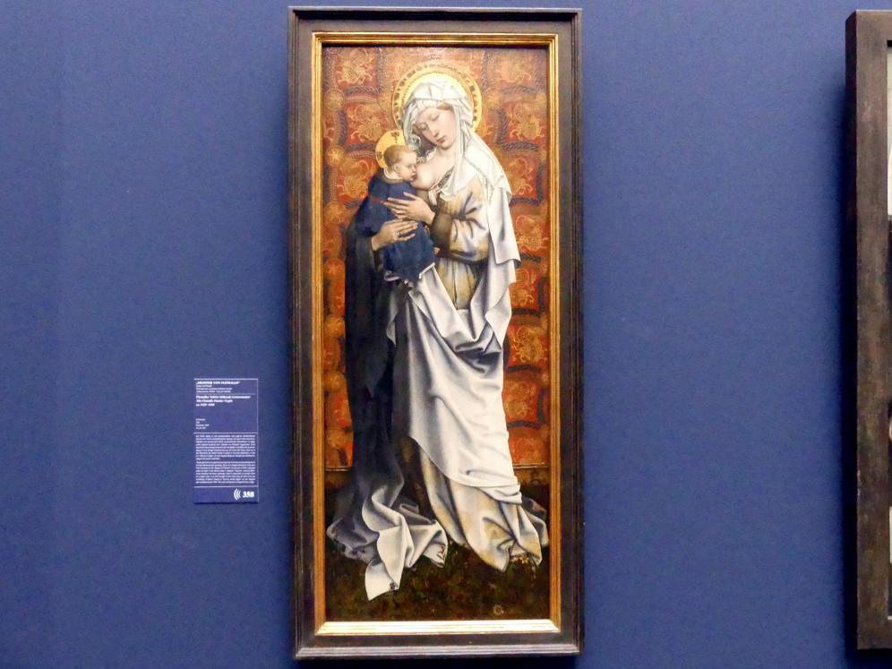 Meister von Flémalle: Flémaller Tafeln: Stillende Gottesmutter, um 1428 - 1430