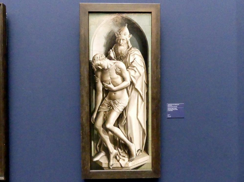 Meister von Flémalle: Flémaller Tafeln: Trinität, um 1428 - 1430