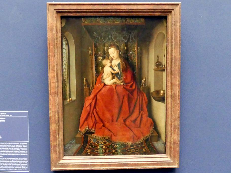 Jan van Eyck: Lucca-Madonna, um 1437