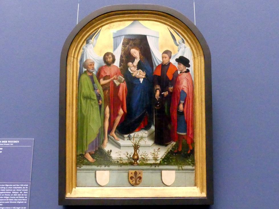 Rogier van der Weyden: Medici-Madonna, um 1453 - 1460