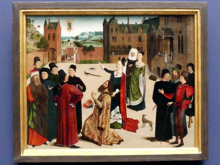 Meister der Tiburtinischen Sibylle: Die Weissagung der Sibylle von Tibur, Um 1473 - 1477
