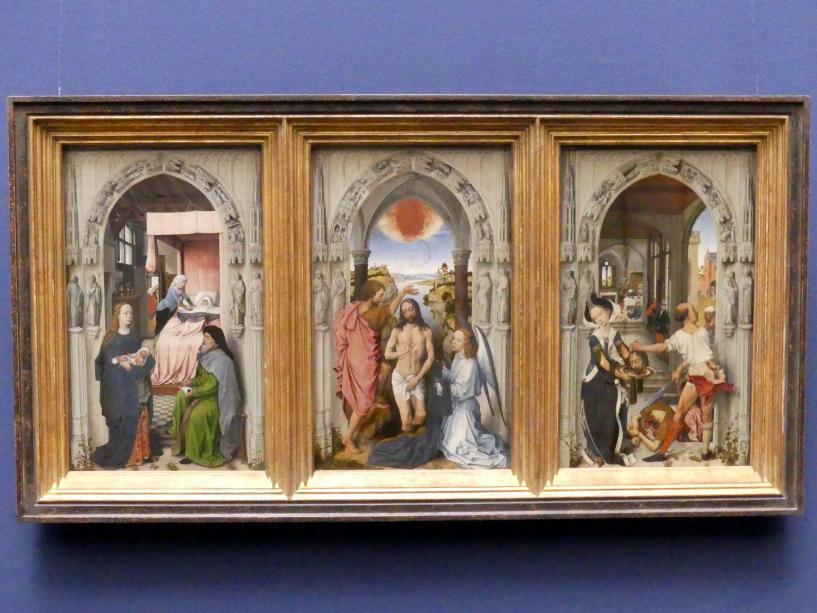 Rogier van der Weyden (Nachfolger): Johannes-Altar, Um 1510