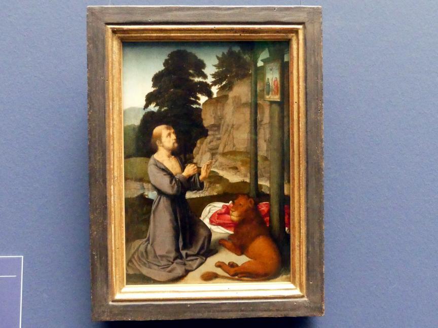 Gerard David: Der hl. Hieronymus in der Wildnis, um 1510