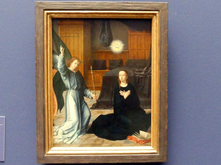 Gerard David: Verkündigung an Maria, um 1509
