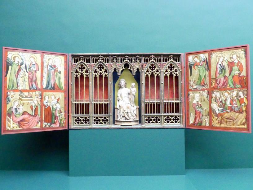 Flügel des Altenberger Altars, Um 1330