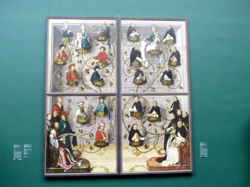 Hans Holbein der Ältere: Werktagsseite des Frankfurter Dominikaneraltars, 1501
