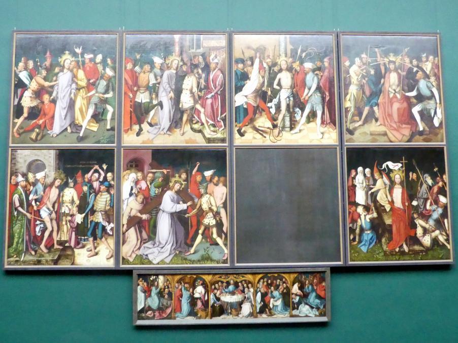 Hans Holbein der Ältere: Sonntagsansicht des Frankfurter Dominikaneraltars, 1501