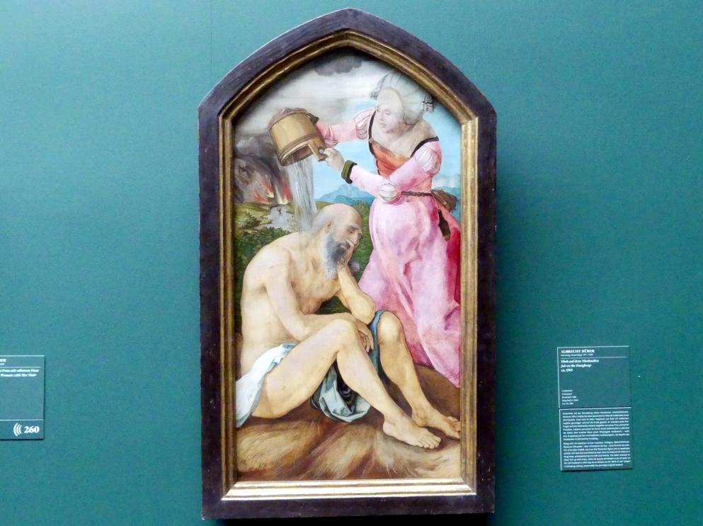 Albrecht Dürer: Hiob auf dem Misthaufen, Um 1505