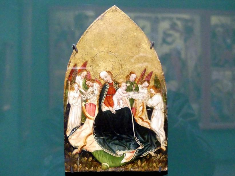 Madonna im Kreise von Engeln, um 1430