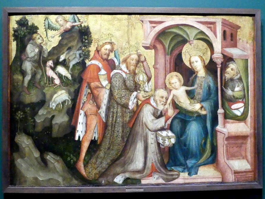 Anbetung der Könige, um 1400