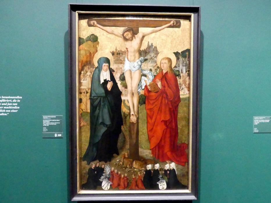 Kreuzigung mit der Familie des Stifters Wigand Märkel, um 1503 - 1505