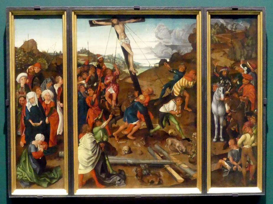 Kreuzaufrichtung, Um 1500