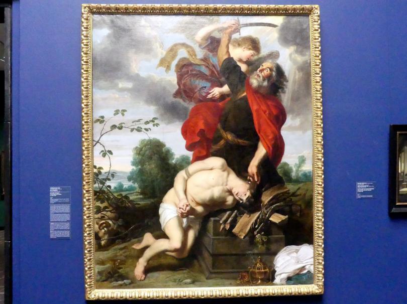 Cornelis de Vos: Das Opfer Abrahams, um 1631 - 1635