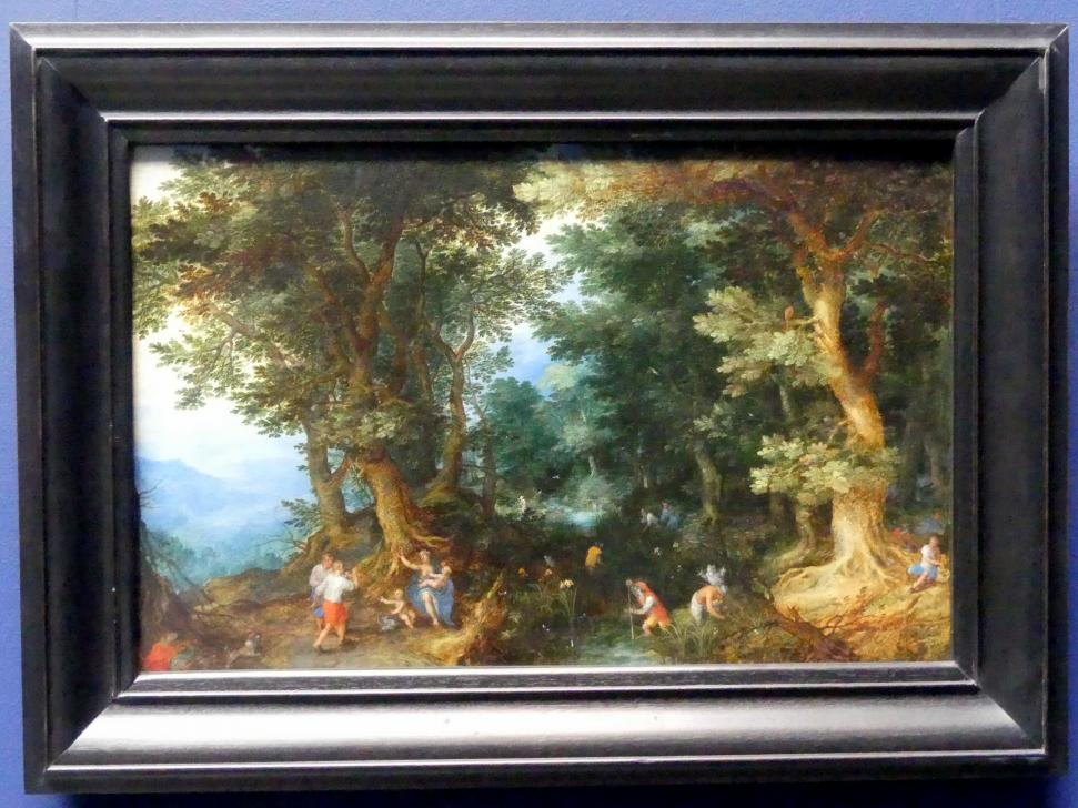Jan Brueghel der Ältere (Blumenbrueghel): Die Verspottung der Latona, 1601