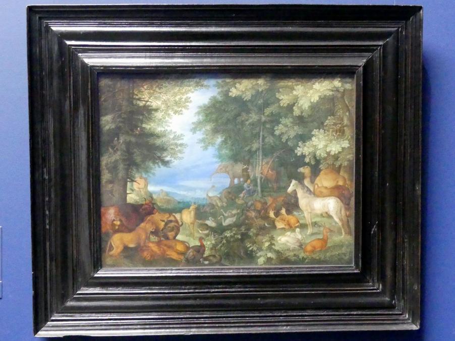 Roelant Savery: Orpheus unter den Tieren, 1610