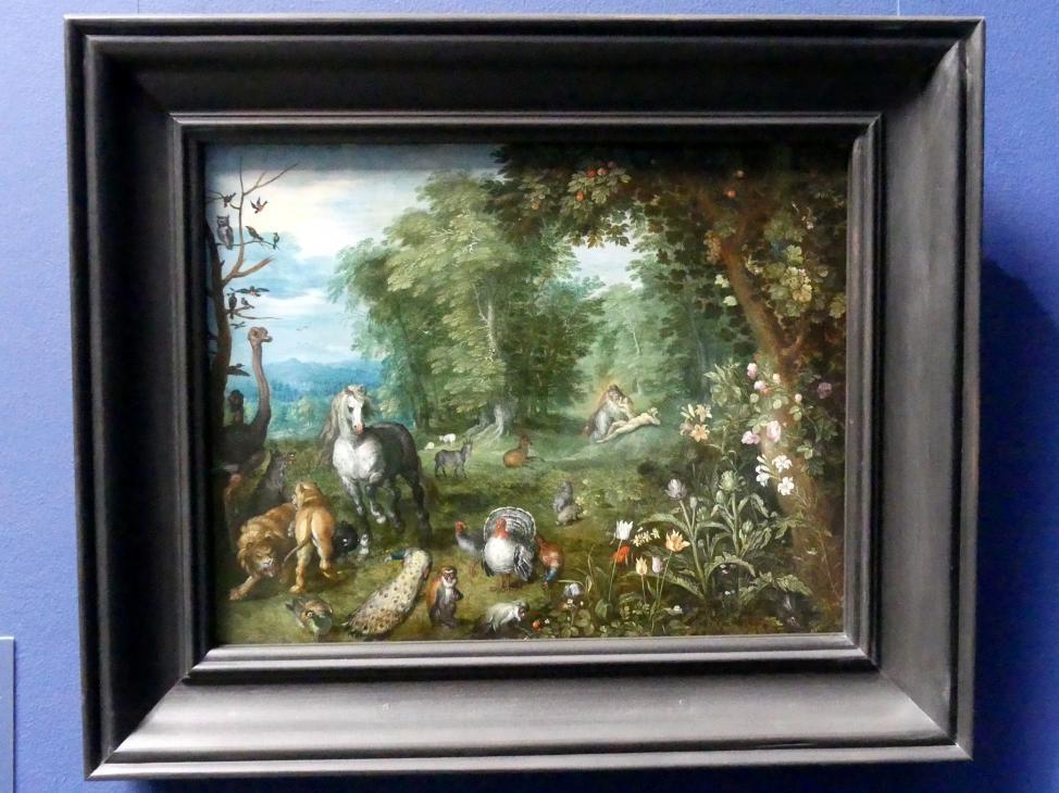 Jan Brueghel der Jüngere: Orpheus unter den Tieren, 1636 - 1640