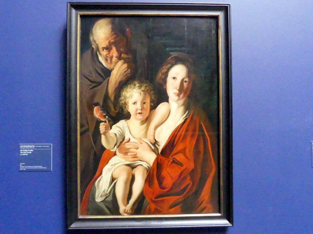 Jacob Jordaens: Die Heilige Familie, 1619 - 1620