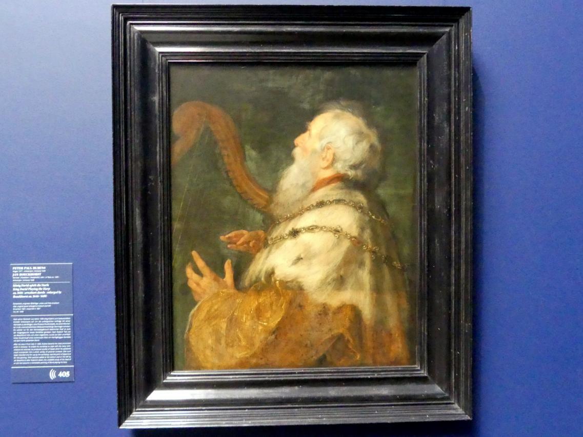 Peter Paul Rubens: König David spielt die Harfe, Um 1616