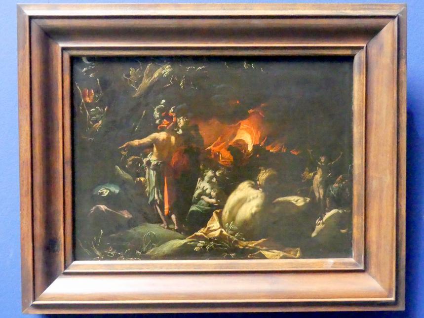 Abraham Bloemaert: Der Brand Trojas, Um 1593