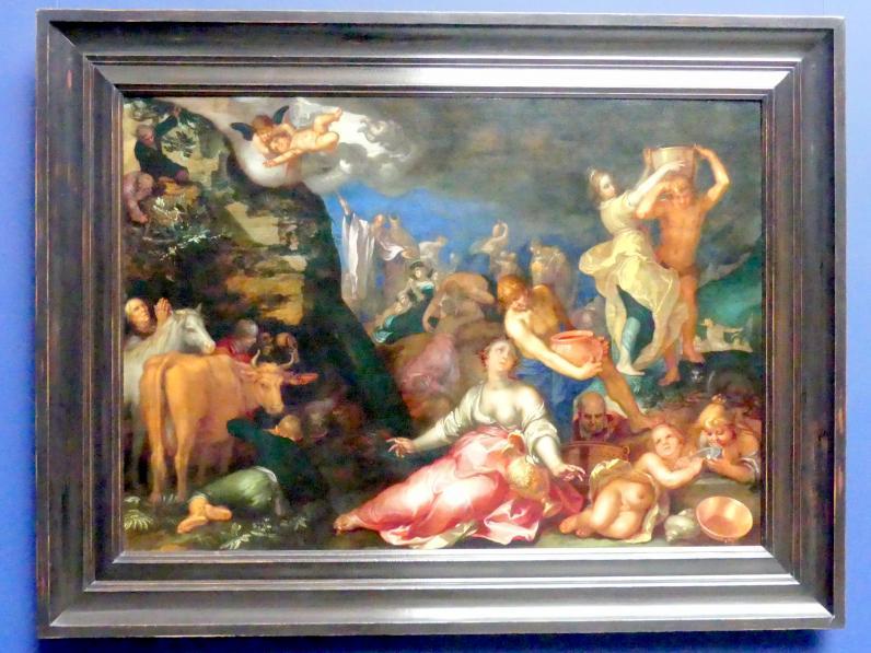 Abraham Bloemaert: Moses schlägt Wasser aus dem Fels, 1611