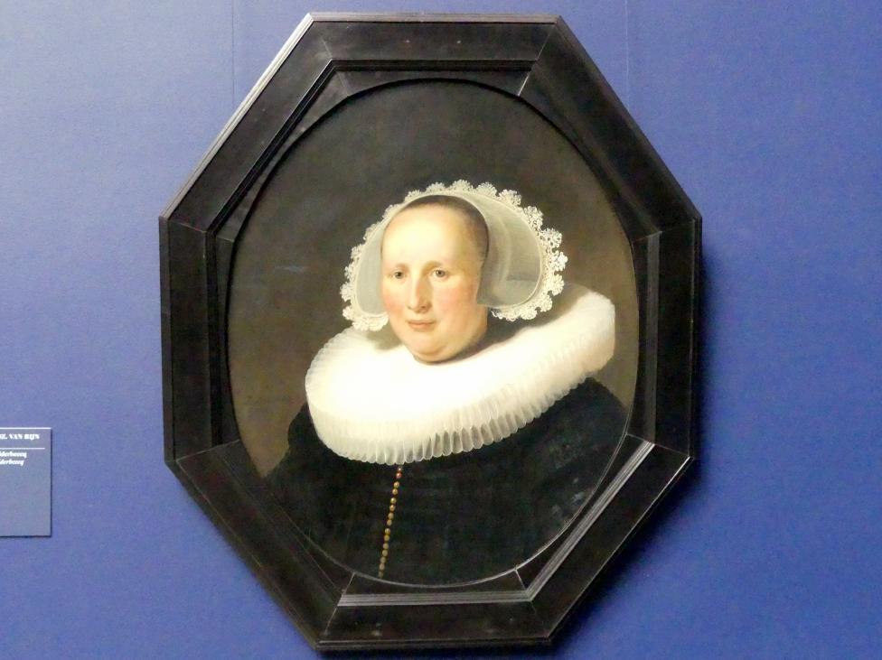 Rembrandt (Rembrandt Harmenszoon van Rijn): Bildnis der Maertgen van Bilderbeecq, 1633