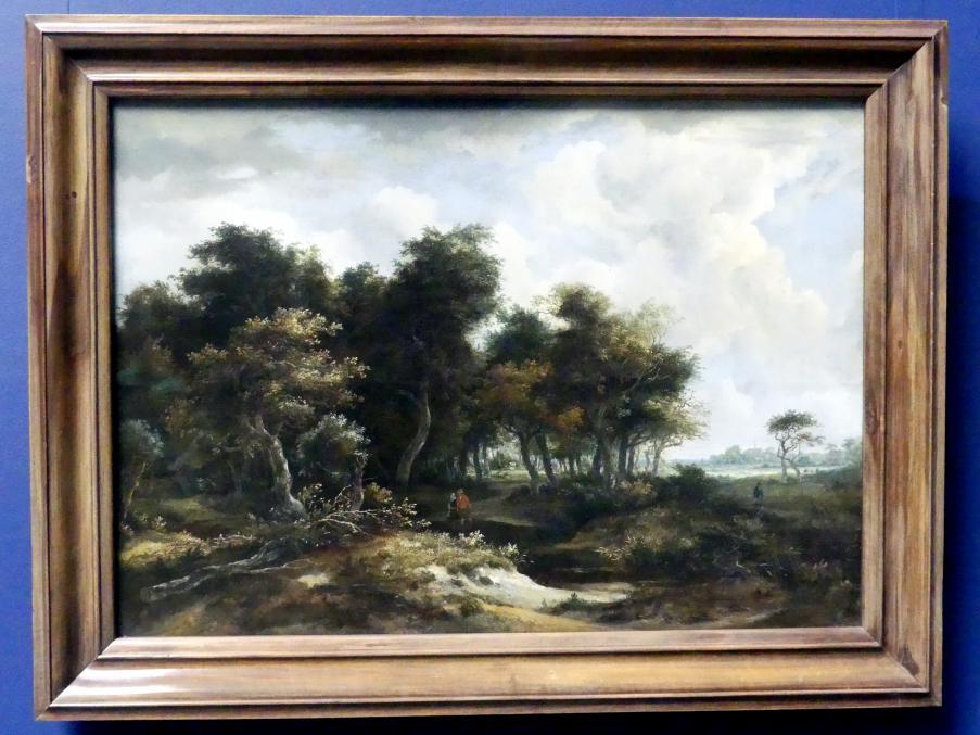 Meindert Hobbema: Eingang zum Wald, um 1663 - 1665
