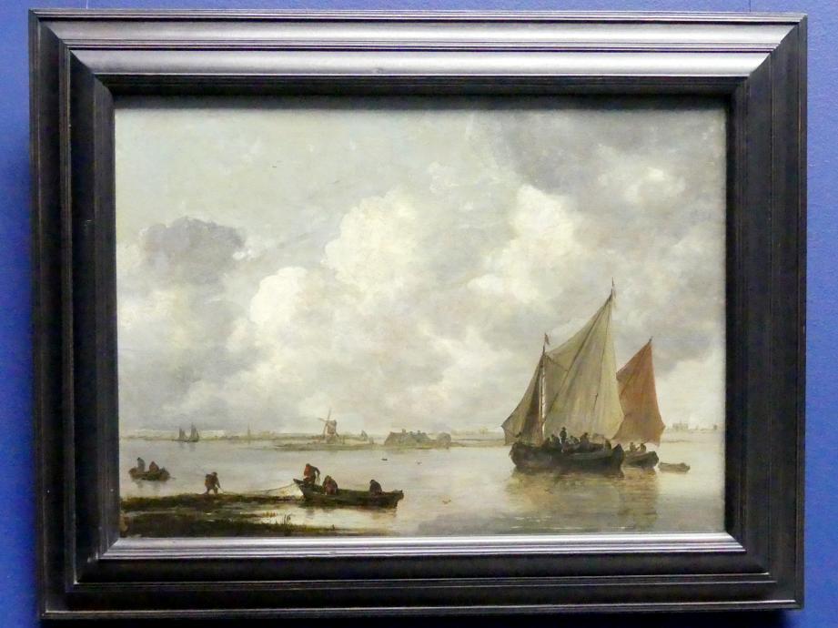 Jan van Goyen: Das Haarlemer Meer, 1656