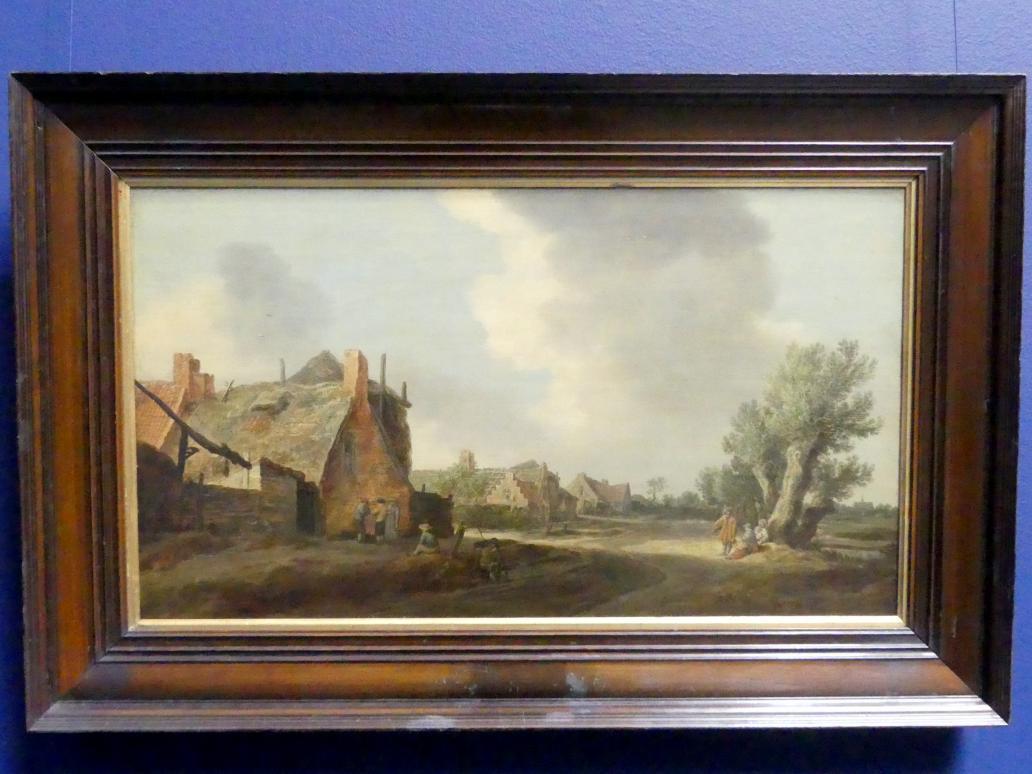 Jan van Goyen: Dorfstraße, 1628