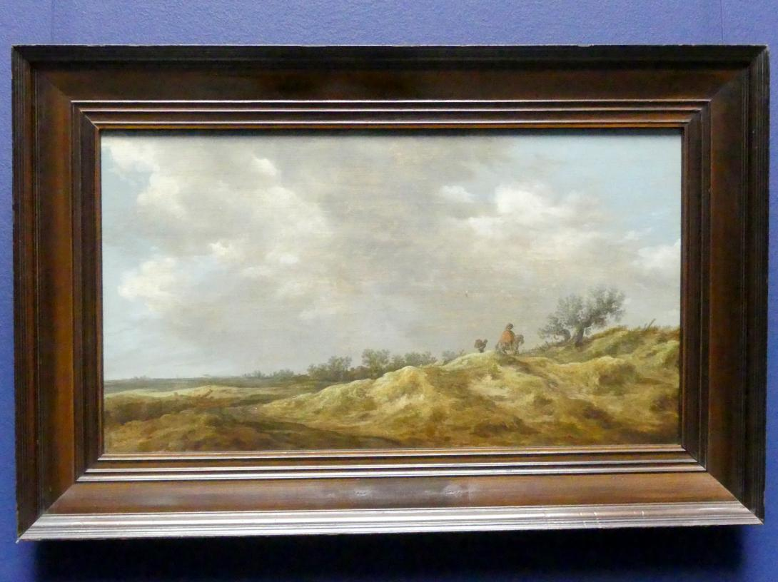 Jan van Goyen: Weg in den Dünen, 1629