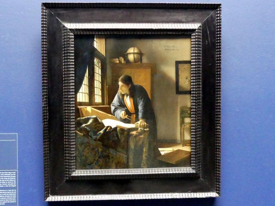 Jan Vermeer (Johannes Vermeer): Der Geograf, 1669