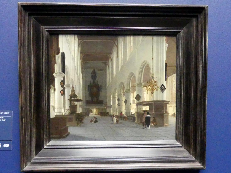 Hendrick Cornelisz. van Vliet: Das Innere der Oude Kerk zu Delft, Um 1660 - 1663